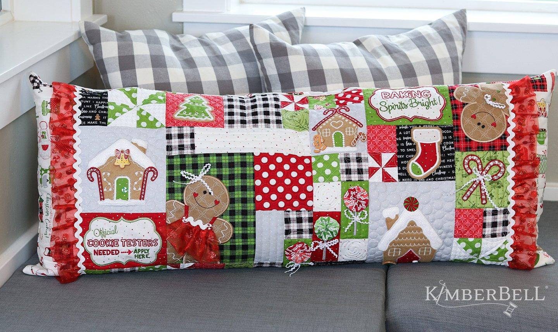 Kimberbell Ginger's Kitchen Bench Pillow Embellishment Kit  KDKB1213