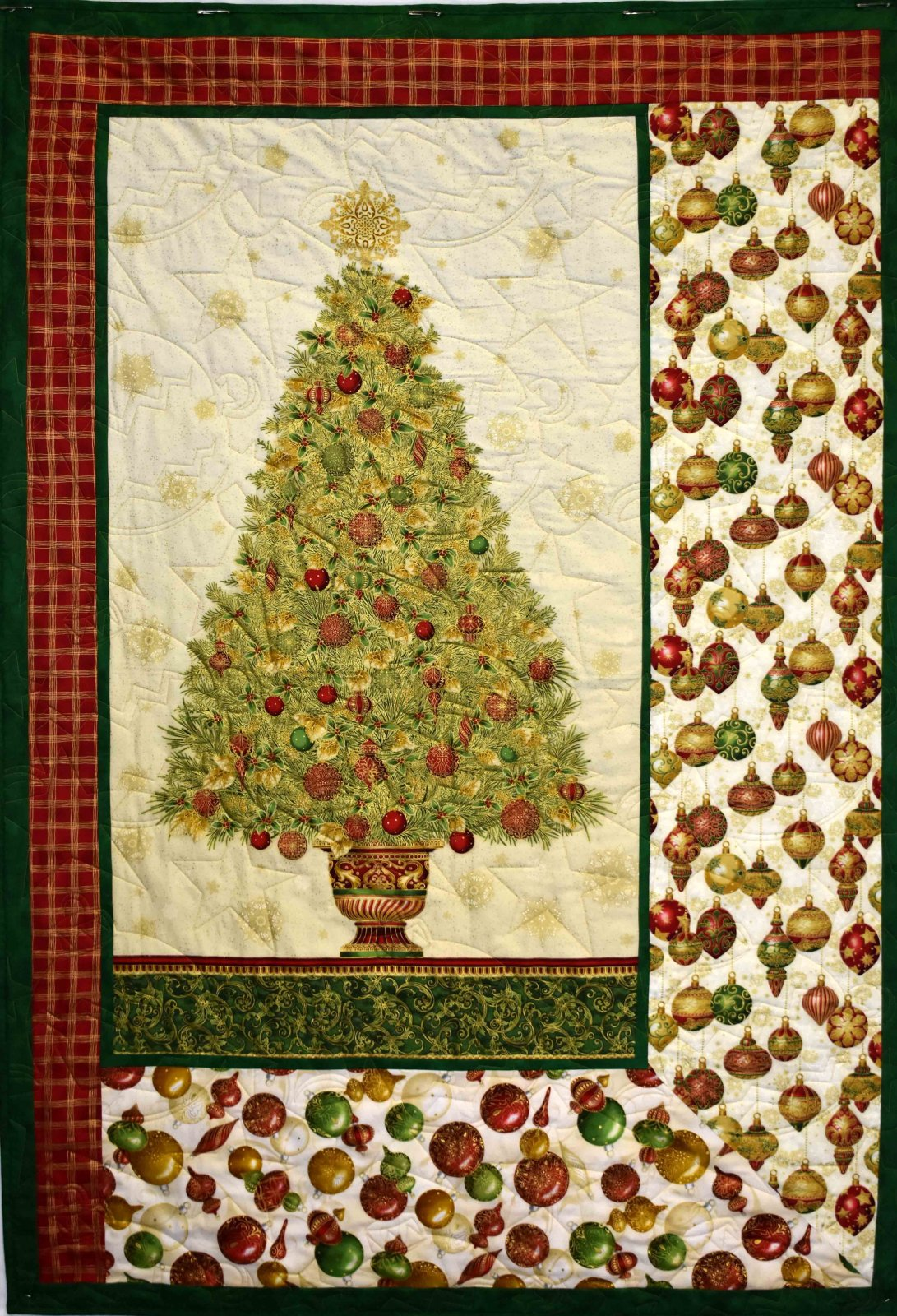 Gold Christmas Tree Panel Kit `
