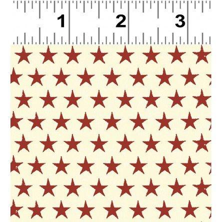 Clothworks Land That I Love Y2416-82  Stars Red  '