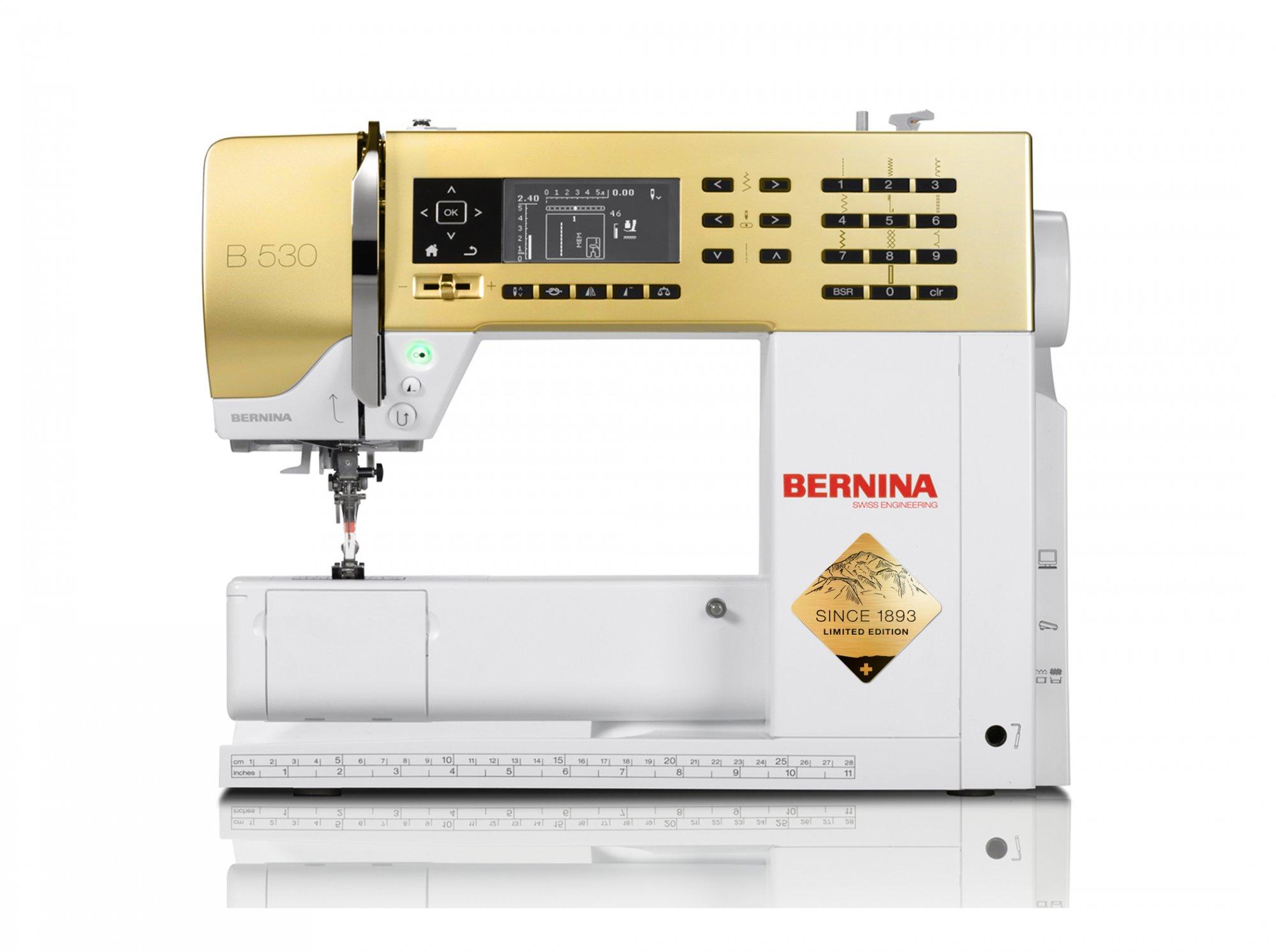 BERNINA GOLD 530 SPECIAL EDITION