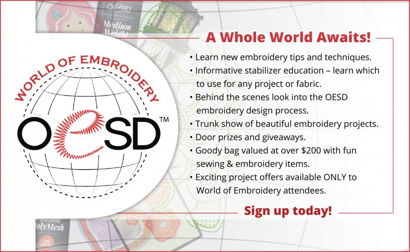 OESD World of Embroidery