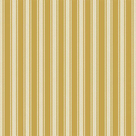41725-5 45'' Windham Fabrics Gold Ticking Stripe Flannel