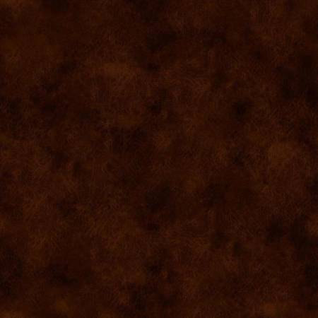 183-264303 118'' Fabriquilt Chocolate Leather Texture Look Wide Backing