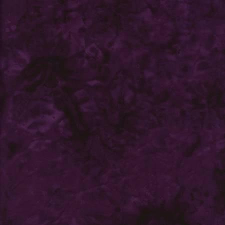 JQB-0371 108'' Maywood Studios Fresh Water Designs Deep Purple Wide Back Batik