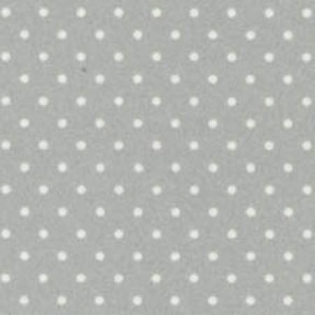 18131-K 45'' Maywood Studios Soft Grey Dots Flannel