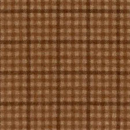 18141-A2 Gold/Brown Plaid Woolies Flannel