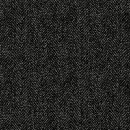 1841-K4 45'' Maywood Studios Dark Gray Woolies Flannel