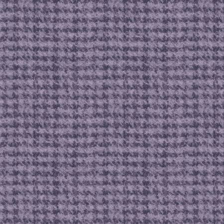 18503-V 45'' Maywood Studios Purple Hounds Tooth Woolies Flannel