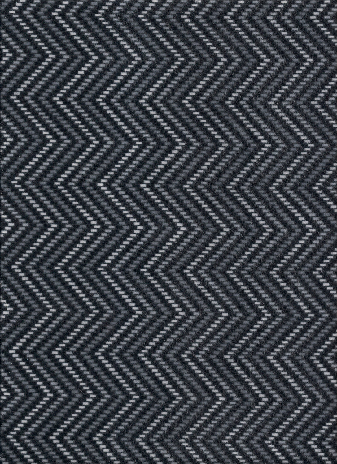 AAILOR-CT1628-BK 45'' Timeless Treasures Gray/Black/White Zig-Zag Flannel
