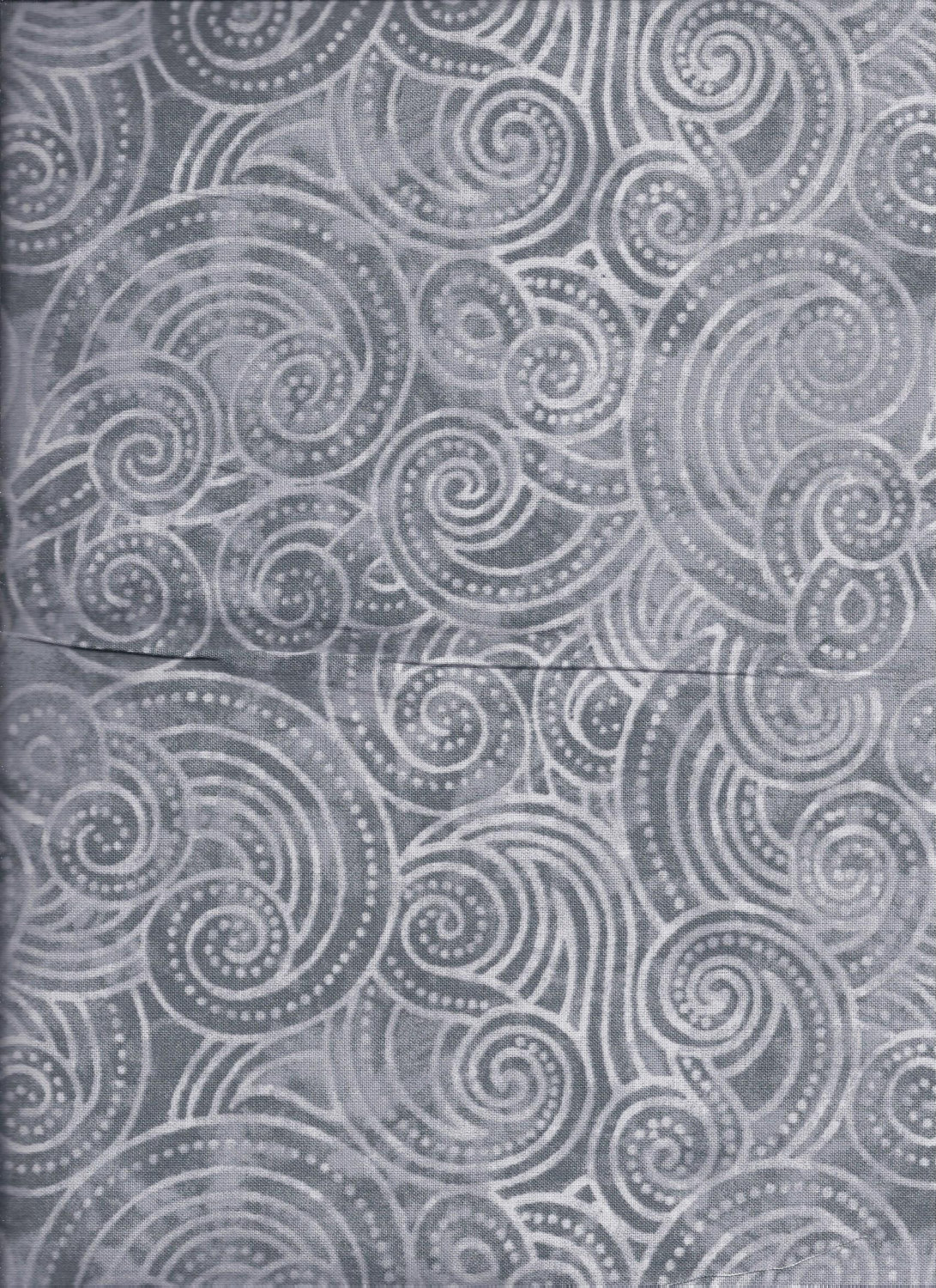 2072-990 108'' Wilmington Prints  Gray Dotty Waves