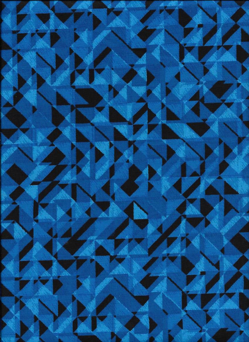 3049-77 108'' Studio E Blue Prisms
