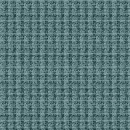 18504-BG 45'' Maywood Studios Blue Double Weave Woolies Flannel