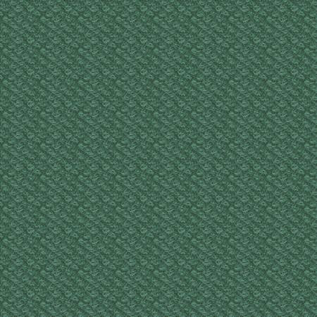18505-G2 45'' Maywood Studios Teal/Green Poodle Boucle Woolies Flannel