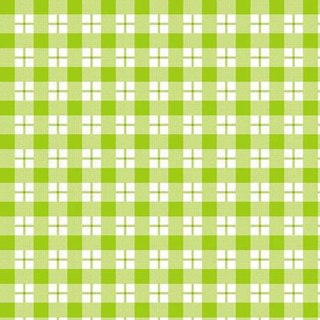 6457-6 45'' Henry Glass & Co. Ric Rac Paddywack Lime Plaid Flannel