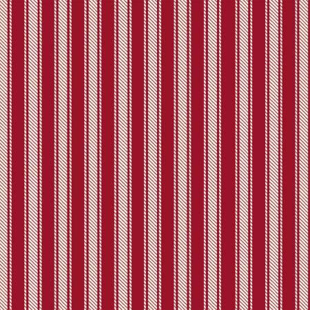 41725-2 45'' Windham Fabrics Red Ticking Stripe Flannel