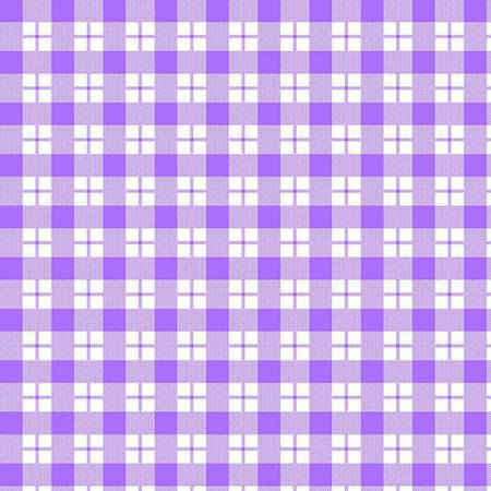 6457-55 45'' Henry Glass & Co. Ric Rac Paddywack Lilac Plaid Flannel