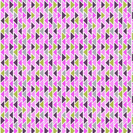 2906-55 45'' Studio e Cuddle Me Basic Flannel Pink Geometric Flannel