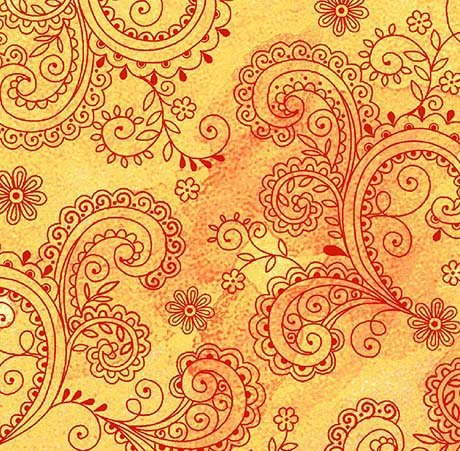 1899-26312-S 108'' Quilting Treasures Gold Avalon Wide Backing