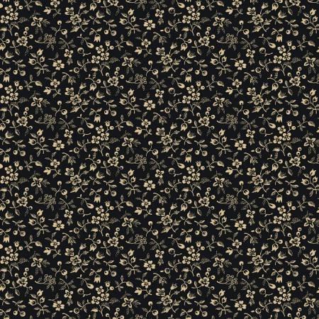 26592-BLA1 108'' Washington Street Studio Black Petite Flora