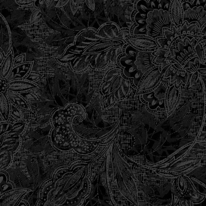 18-30801 118'' Oasis Fabrics Black Shadows