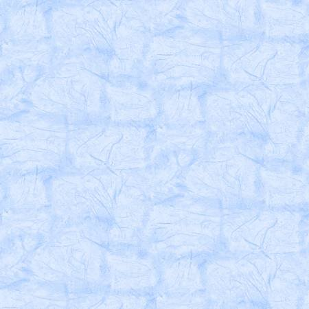 220-0206-414 45'' Epic Fabric Light Blue Zippity Texture on Flannel
