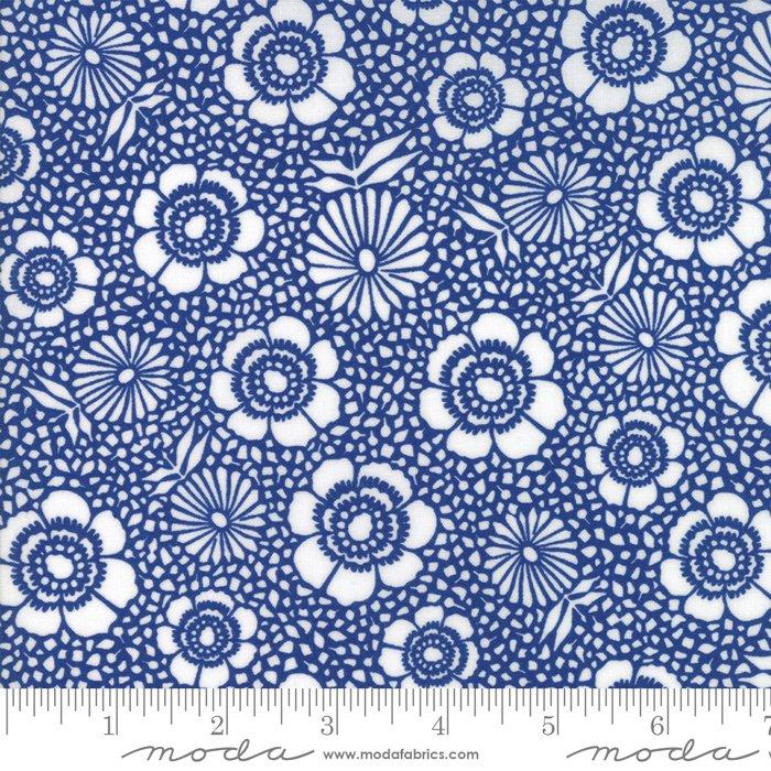 11142 15 108'' Moda Fabrics  Harmony Dark Sky Flowers Wide Backing