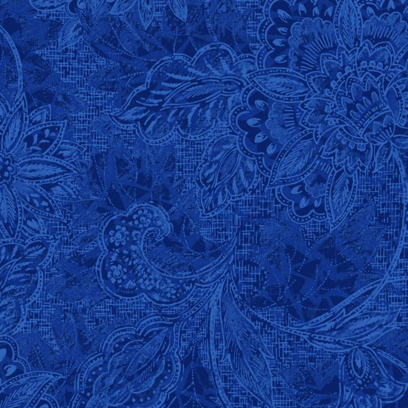 18-30807 118'' Oasis Fabrics Blue Shadows Wide Backing