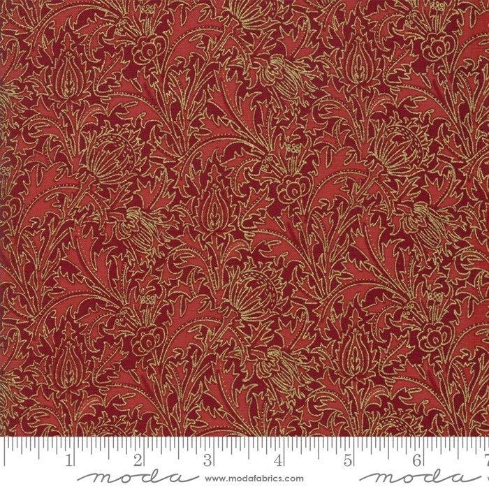 11144-16M 108'' Moda Fabrics Morris Holiday Met Crimson