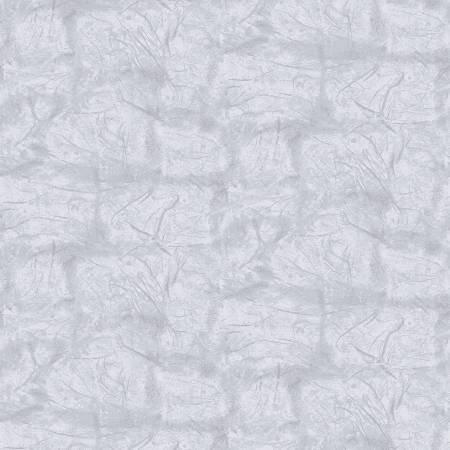 220-0206-999 45'' Rpic Fabrics Grey Mist Zippity Texture on Flannel