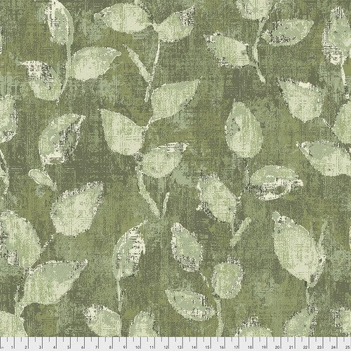 QBFS001.GREEN 108'' Free Spirit Fabrics Green Underwood Wide Backing