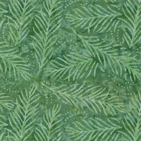 2082-771 108'' Wilmington Prints Light Green Delicate Fronds Wide Backing