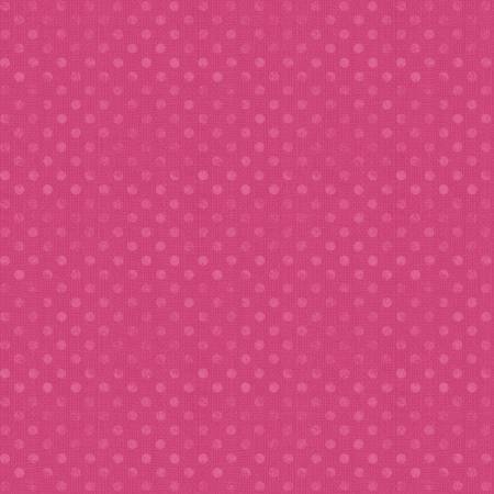 6814-330 108'' Wilmington Prints Magenta Dotsy Wide Backing