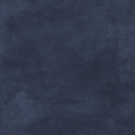 F9200M-N 45'' Maywood Studios Midnight Navy Color Wash Flannel