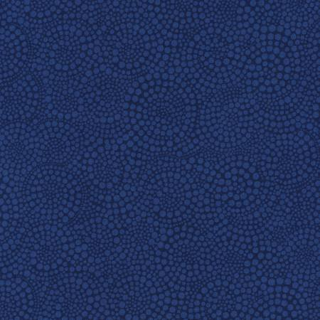 C3904-NVY 45'' Timeless Treasures Navy Pop Dots