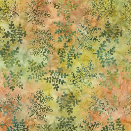 BX7515-PERSI 106'' Timeless Treasures Persimmon Batik Wide Backing