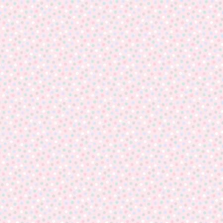 10449FB-01 45'' Benartex Light Pink Snuggle Dot Flannel