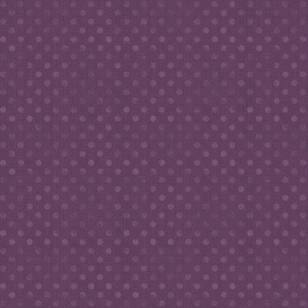 6814-660 108'' Wilmington Prints Plum Dotsy Wide Backing