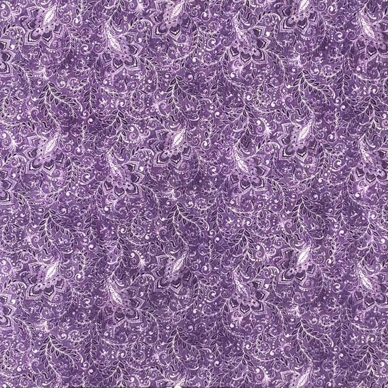 18-40107 118'' Oasis Fabrics Purple Classic Wide Backing