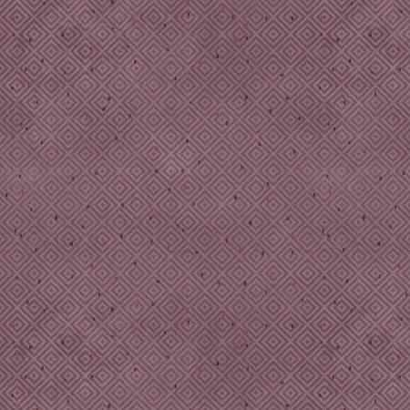 2183F-55 45'' Henry Glass & Co. Purple Diamonds Flannel
