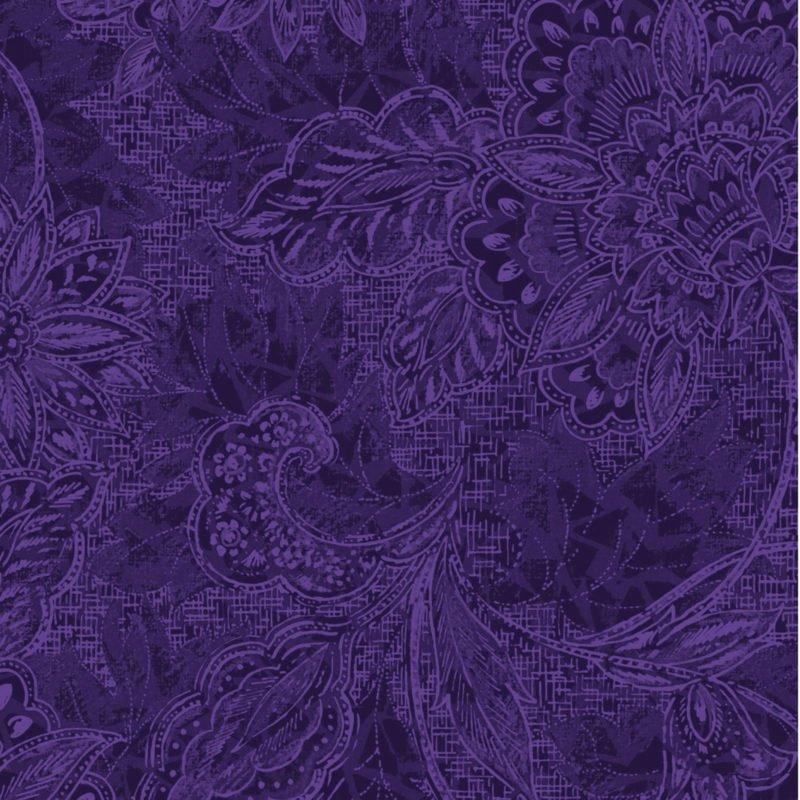 18-30809 118'' Oasis Fabrics Dark Purple Shadows