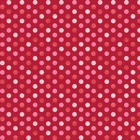 8128-R 45'' Maywood Studios Red/Pink Confetti Dots Flannel