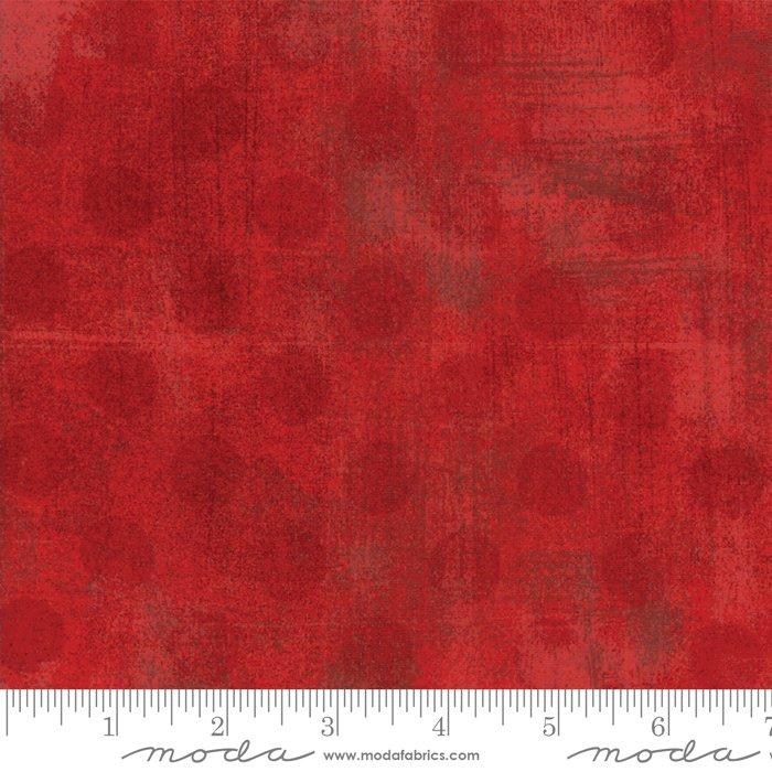 11131 22 108'' Moda Fabrics Red Grunge Hits Spots Wide Backing