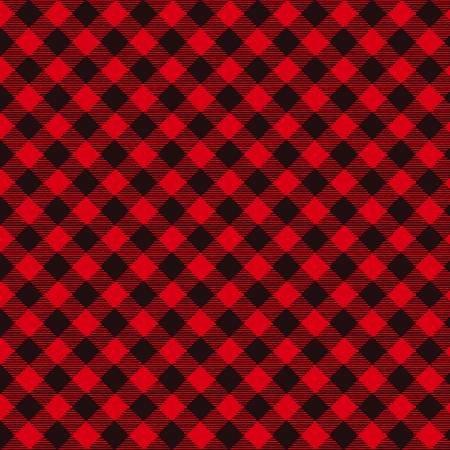 F5705S-89 45'' Studio E Red Buffalo Plaid Flannel