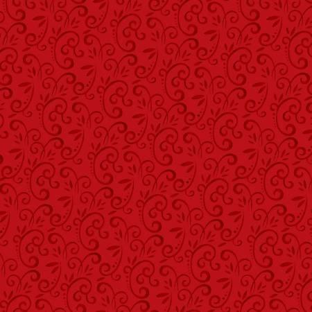 F5708S-88 45'' Studio E Red Swirl Flannel