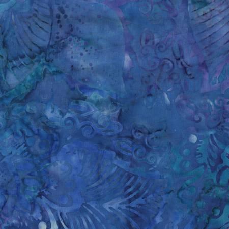 BX7855-REEF 106'' Timeless Treasures Reef Tonga Batik