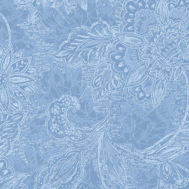 18-30808 118'' Oasis Fabrics Light Blue Shadows Wide Backing