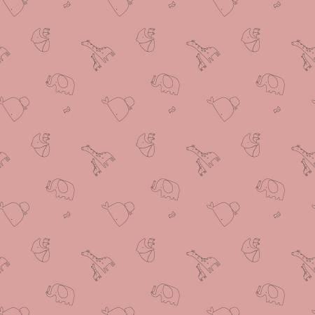 F10624R-SHELL 45'' Riley Blake Designs Shell Little Ones Flannel