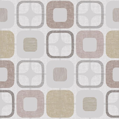9986-30 108'' Blank Quilting Tan Geo-Squared
