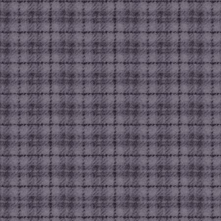 18502-VB 45'' Maywood studios Light Purple Plaid Woolies Flannel