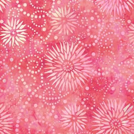 2084-331 108'' Wilmington Prints Watermelon Flower Burst